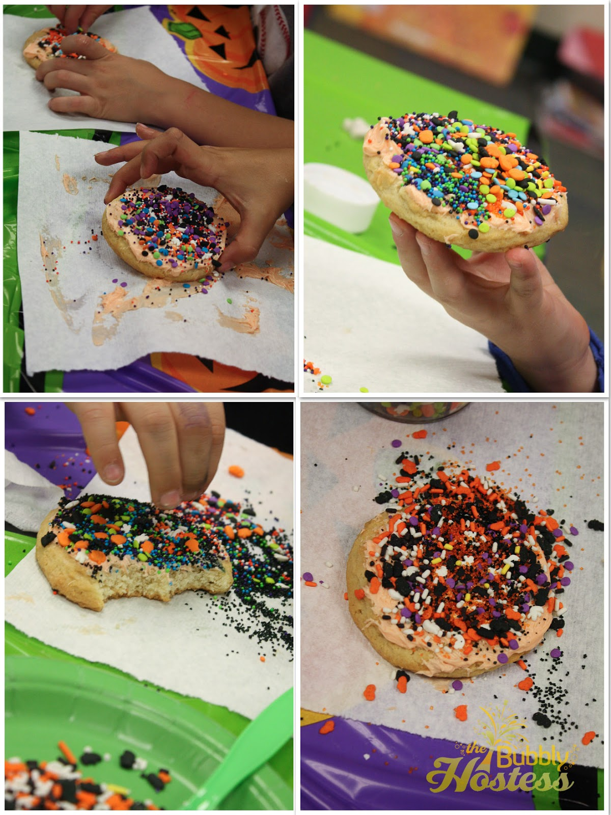 Cookie decorating party ideas - Halloween Cookie Decorating Station