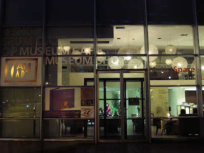 M Cafe at night