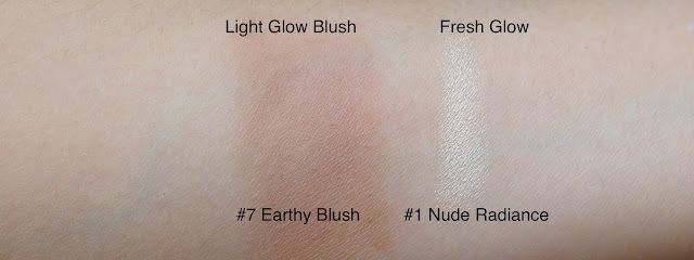 Burberry Earthy Blush and Luminous Pen swatch