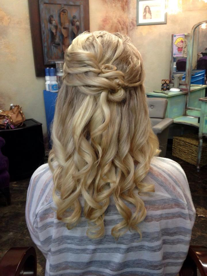 28 Hair Partial Updo Formal Wedding Prom Hairstyles