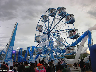 Blue Paradise Fest, Chaweng Lake, wheel