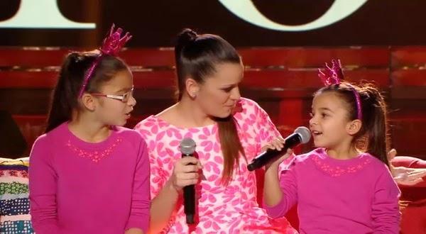 Johana, Vanesa y Zulema cantan Sin ti de Mariah Carey