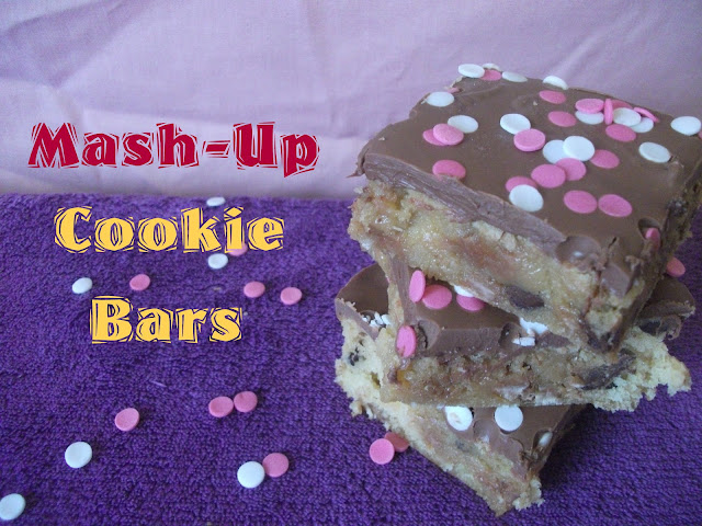 Mash Up Cookie Bars