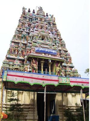 Front View of Koodal Azhagar