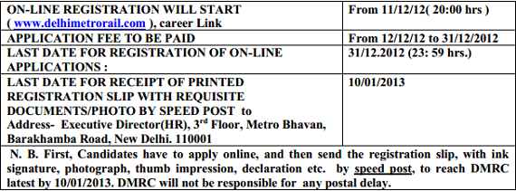 Delhi Metro Rail Corporation (DMRC) Requirement of Assistant Manager for B.E/B.Tech Fresh Graduates As Assistant Manager