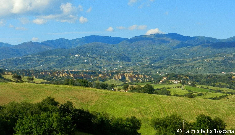 Panorama Valdarno Toscana