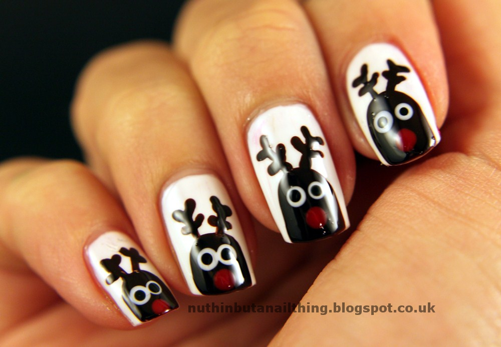 nuthin\' but a nail thing: Rudolph the Red Nose Reindeer, had a very ...