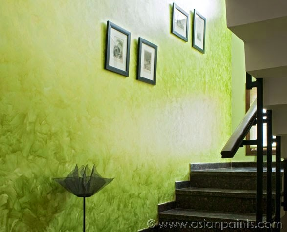 Royale Play Metallic for Staircase Interior by Asian Paints, Image courtesy Asian Paints