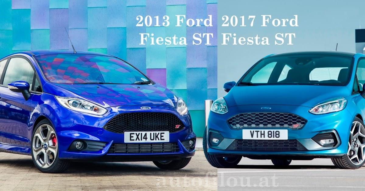 Autofilou at vergleich 2013 vs 2017 ford fiesta st