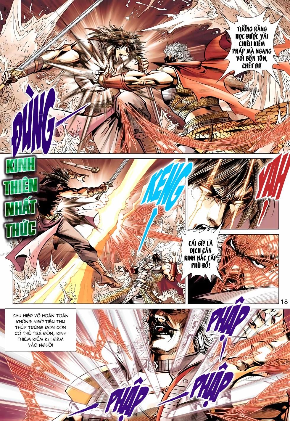 Thần Châu Kỳ Hiệp chap 32 – End Trang 18 - Mangak.info