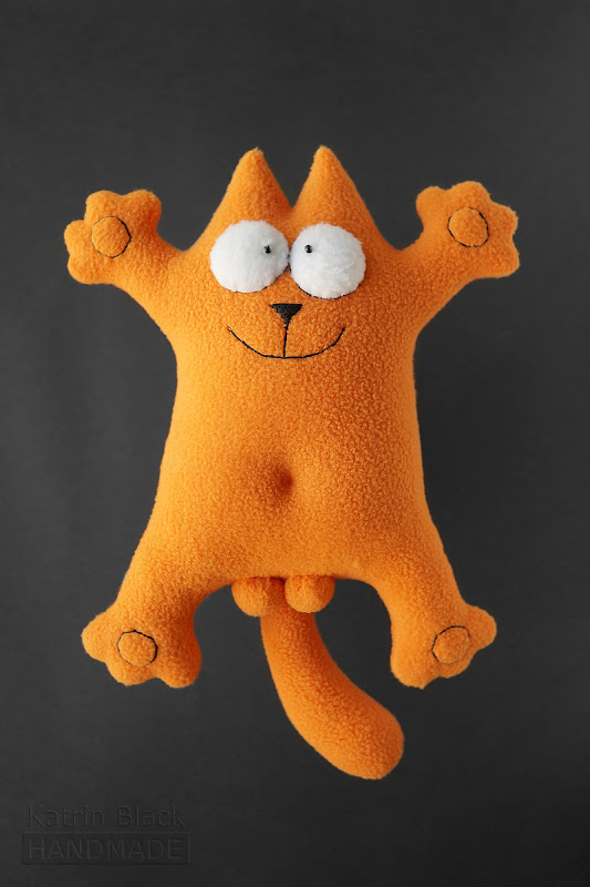 Кот саймона подушка