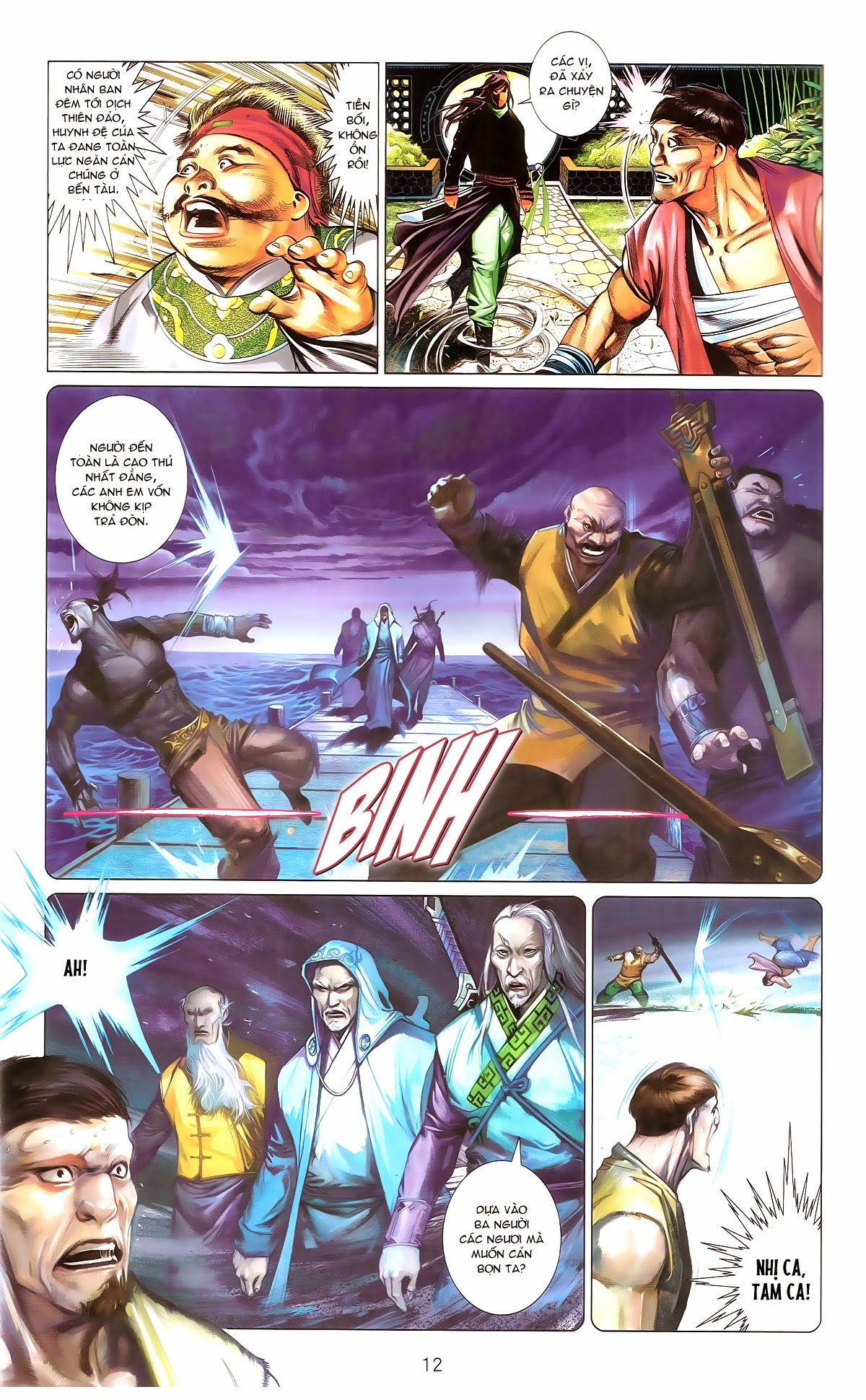 Phong Vân chap 673 Trang 13 - Mangak.info