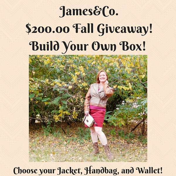 Huge Giveaway Event Sponsored by James&Co. $200.00 Retail Value!
