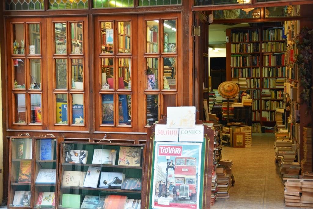 Malaga Bookstore