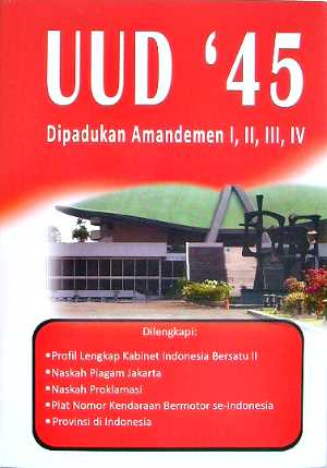 undang undang dasar negara republik indonesia tahun 1945