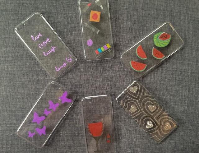 violet blonde designs phone cases