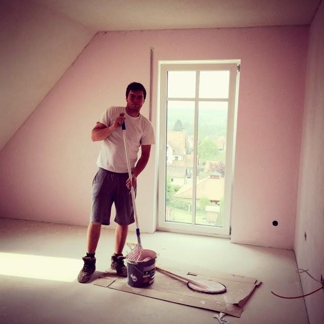 wir bauen ein haus jetzt wirds bunt und hell fashion kitchen. Black Bedroom Furniture Sets. Home Design Ideas