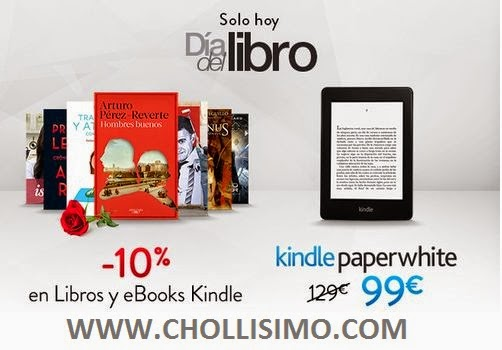 KINDLE Paperwhite 99€