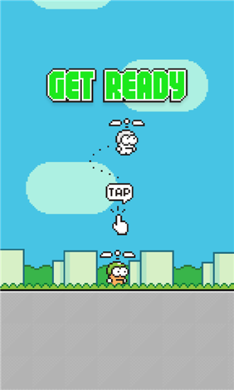 Game Swing Copters Resmi Hadir di Windows Phone