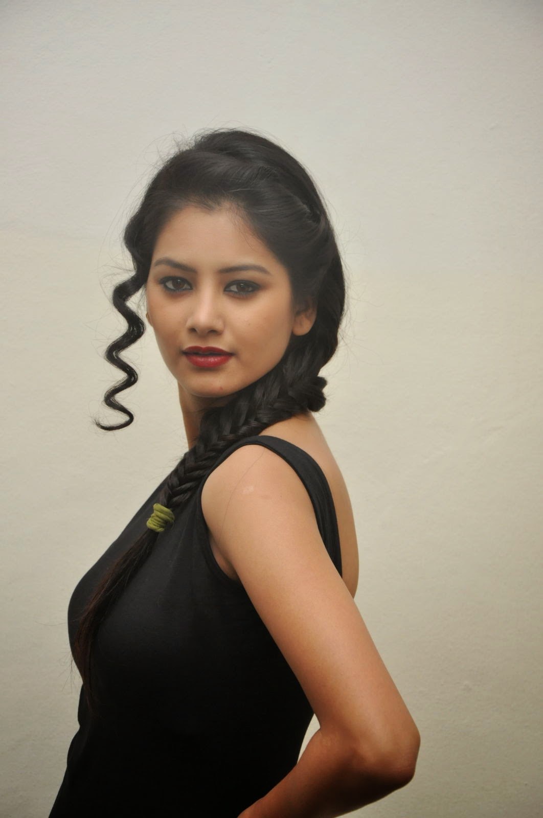 Monika singh sizzling photos in black-HQ-Photo-19