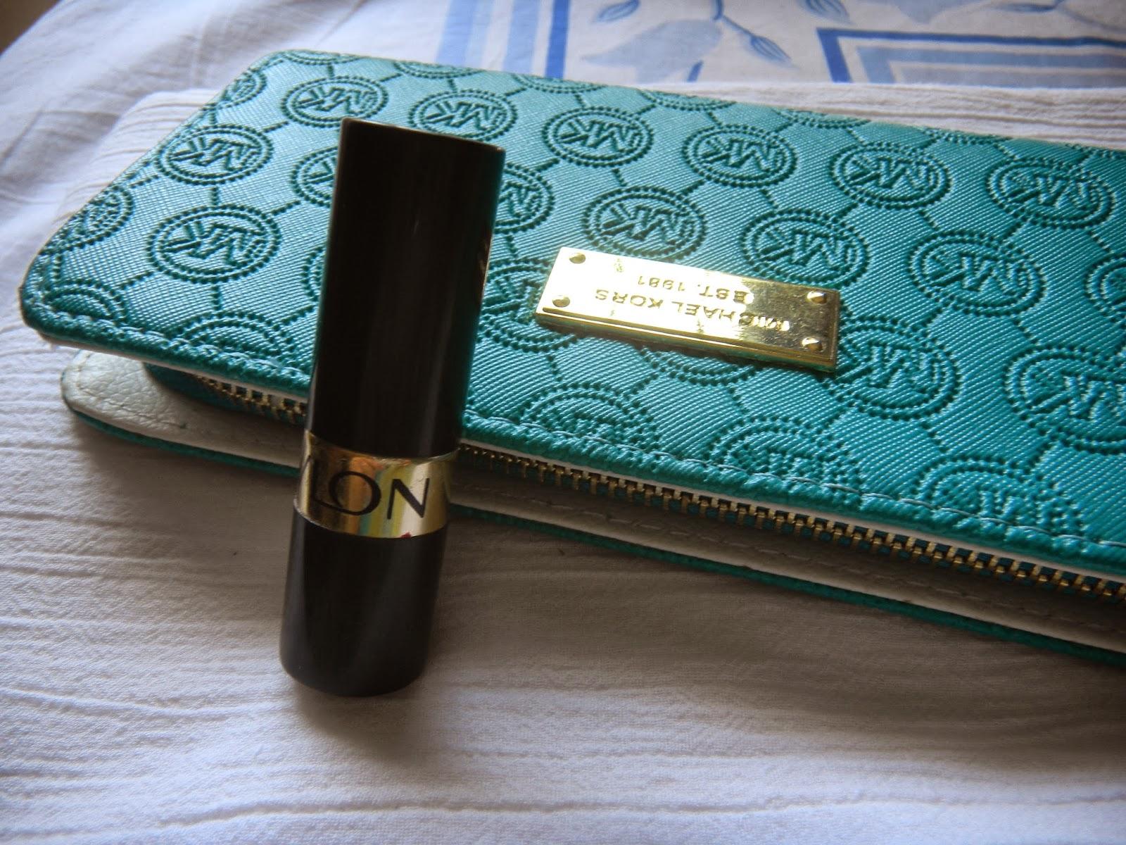 Revlon super lustrous lipstick review- Revlon Cha Cha Cherry Swatch
