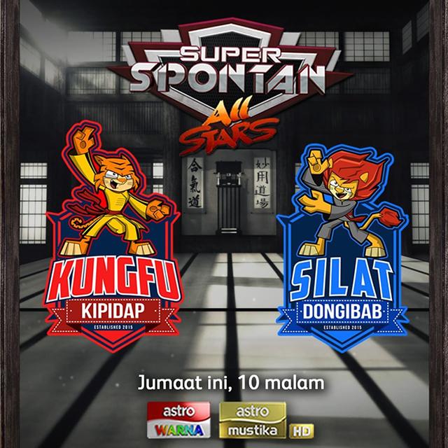 Keputusan Pemenang Super Spontan All Stars