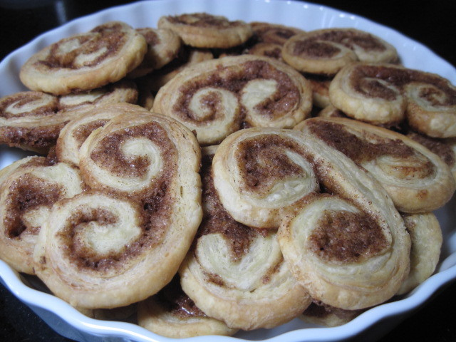 Orange and Cinnamon Palmier Recipe