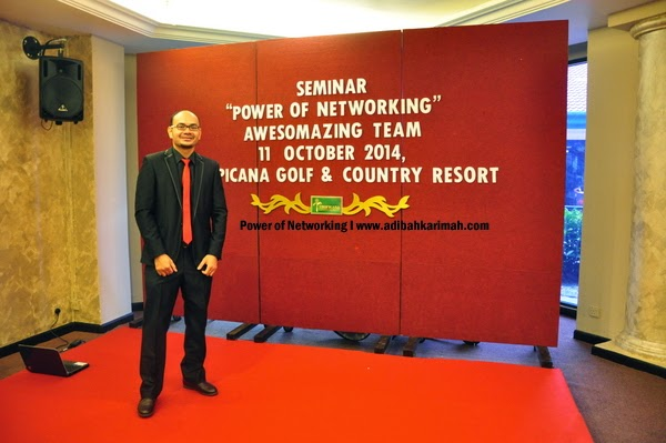 seminar Power of Networking by Awesomazing Team