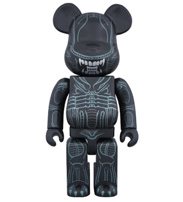 Warrior Alien 400% Be@rbrick Vinyl Figure by Medicom
