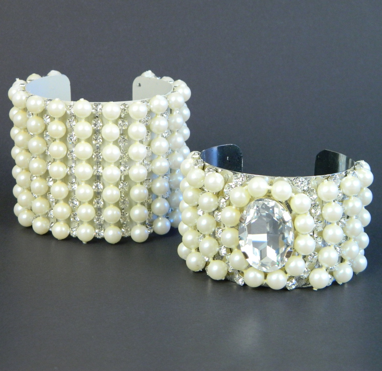Coco Chanel Inspired Cuffs