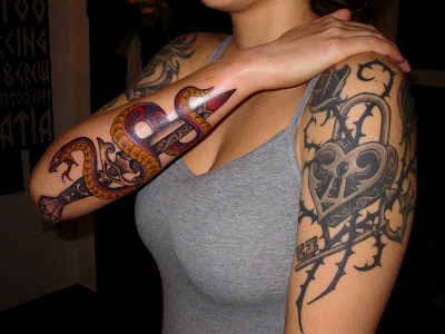 Snakes Tattoo Meaning and Ideas