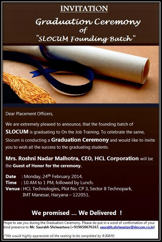 Graduation Ceremony Invitations as best invitations template