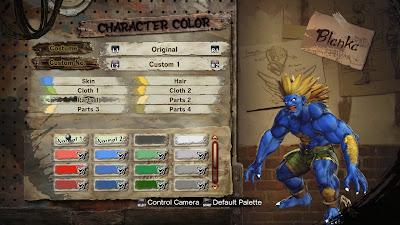 Street Fighter X Tekken Character Customization