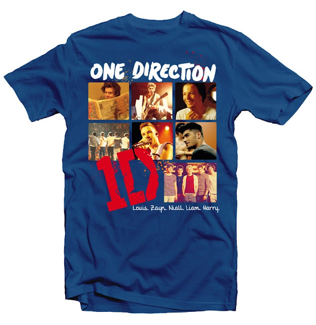 one direction tshirt design