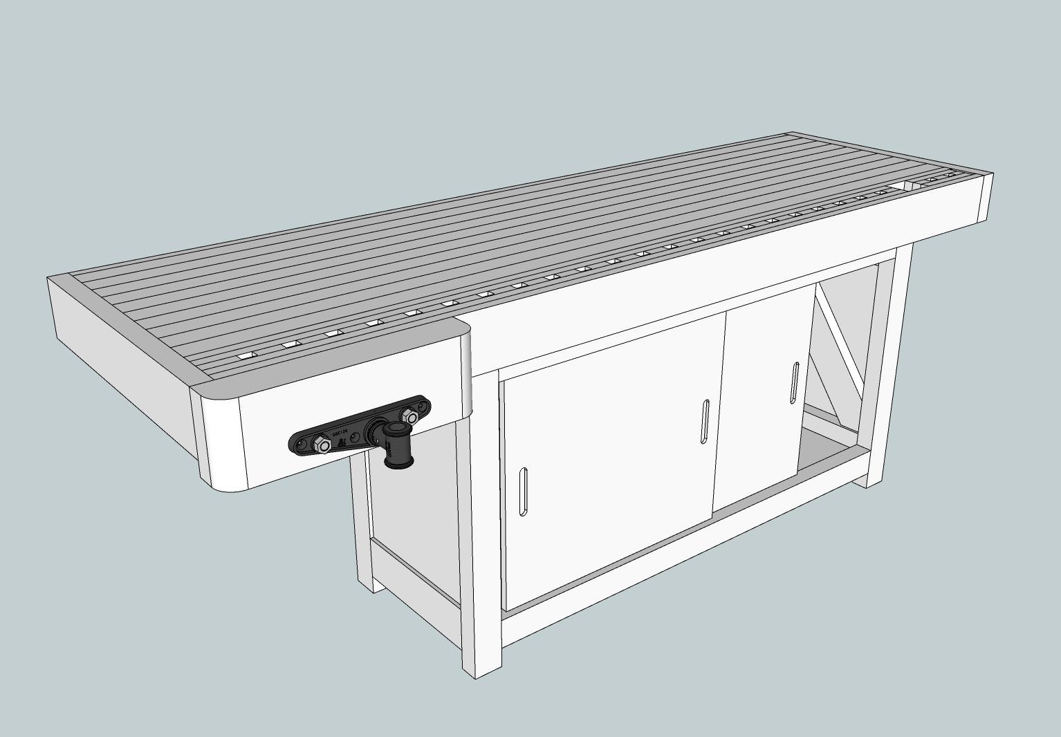 Le bois a vince tabli virtuel - Construction etabli en bois ...