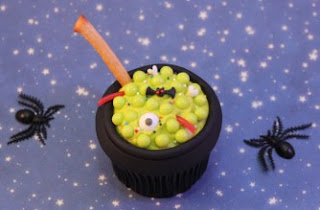 Cauldron cupcake