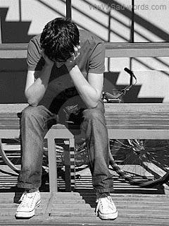 صورة معبرة عن الحزن للشباب