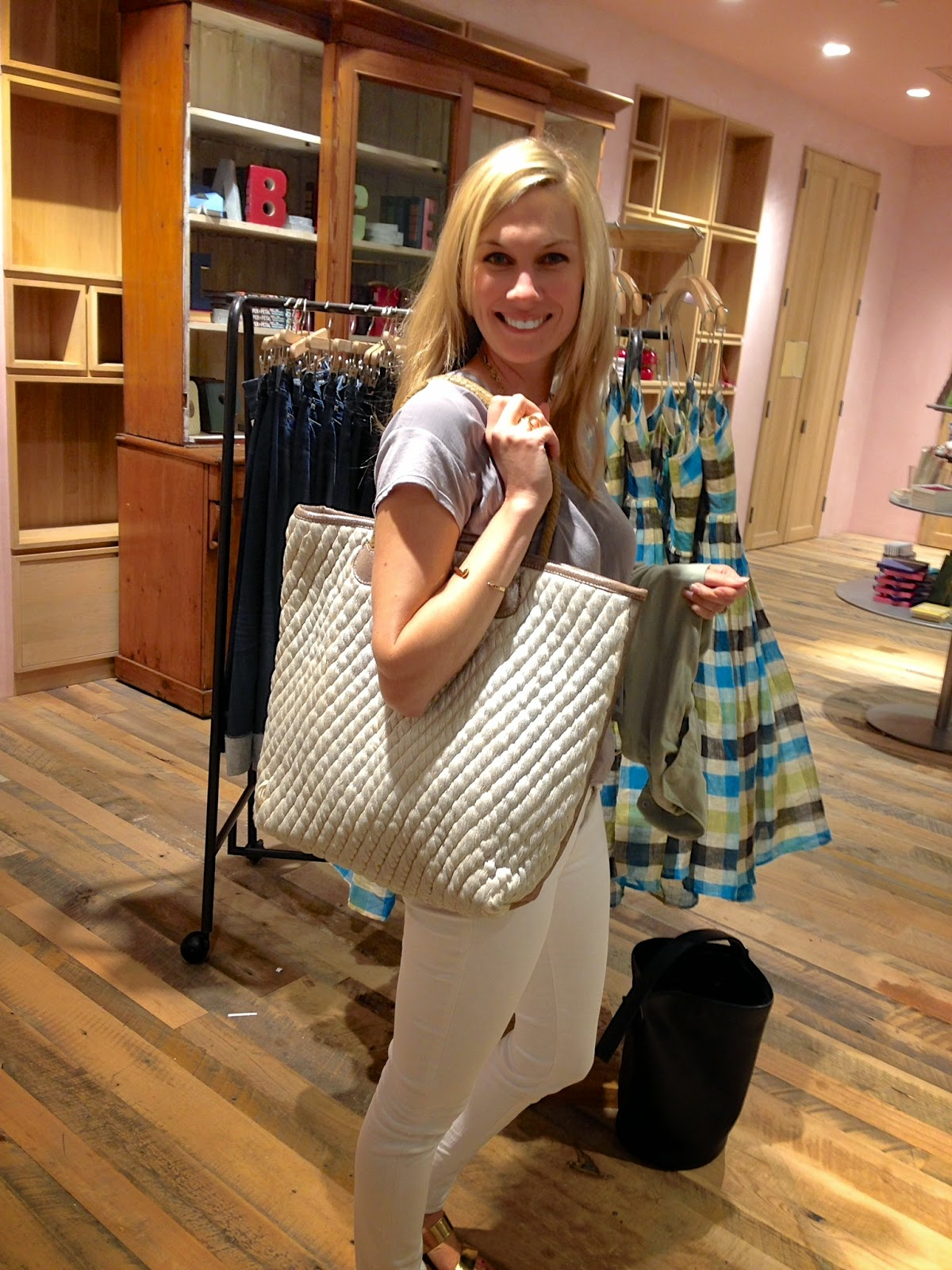 Straw Tote, Anthropologie, Sale, Leather