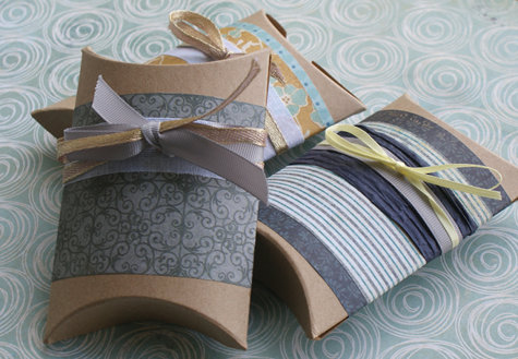 DIY Handmade Decorative Pillow Boxes - Creative Gift Wrapping Ideas for Wedding Favors and Stocking Stuffers Gifts
