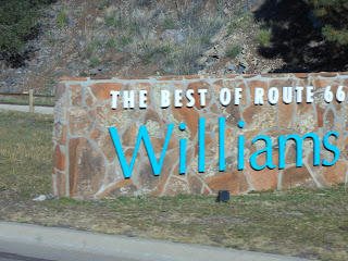 Welcome to Williams Arizona