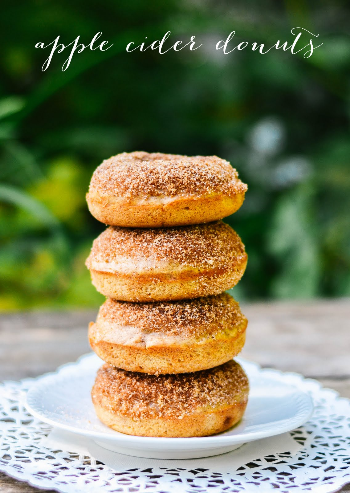 baked] apple cider donuts