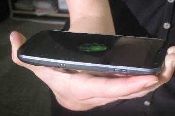 Design do Galaxy Nexus