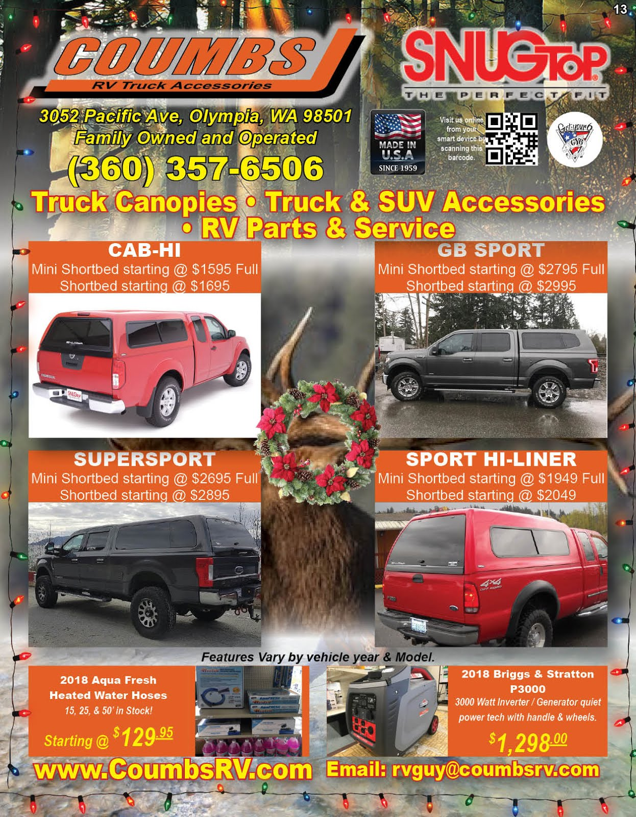 Coumbs RV & Truck Accessories