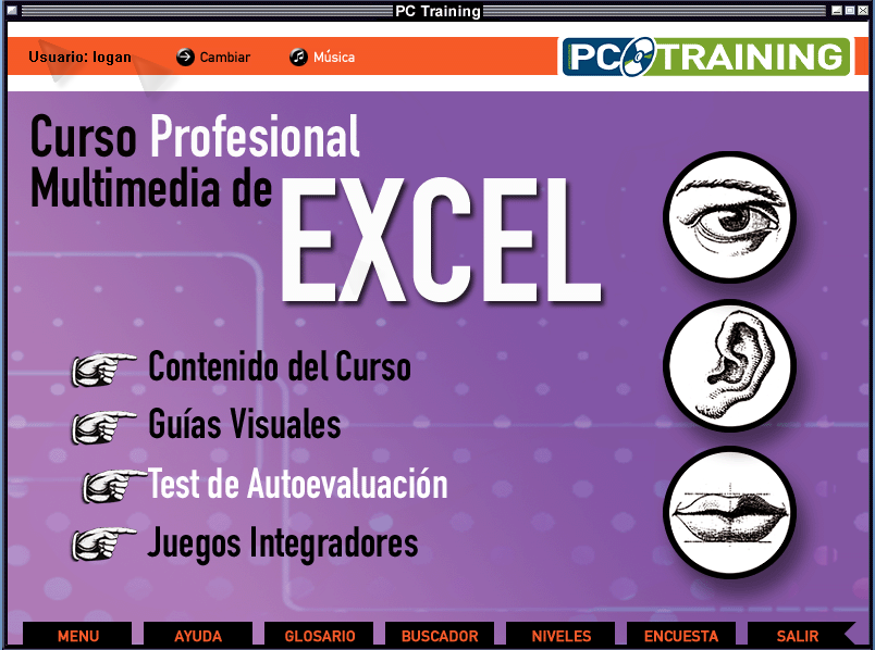Excel Curso Interactivo-Aprende Excel facil-Mega-Iso