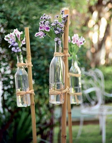 festa junina jardins : festa junina jardins:El misterio de Pepa: DECORACIÓN: El bambú también en tu casa!