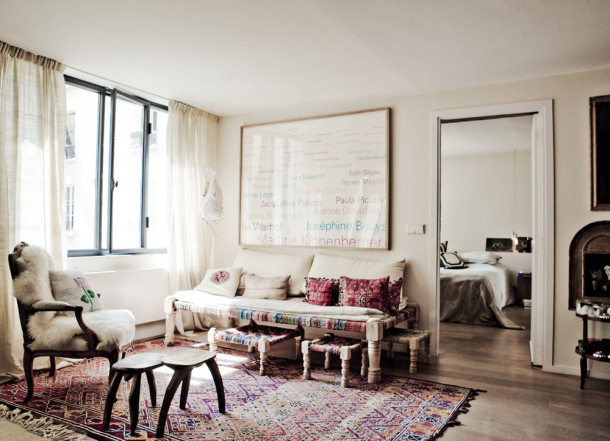 More room therapy bollywood goes to paris for Ica home decor