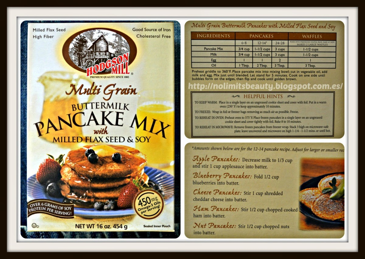 iHerb - Multi Grain Buttermik Pancake Mix de Hodgson Mill