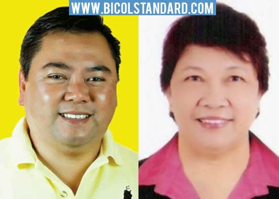 LEFT: Mayor John Bongat, RIGHT: Schools Division Superintendent Emma Cornejo