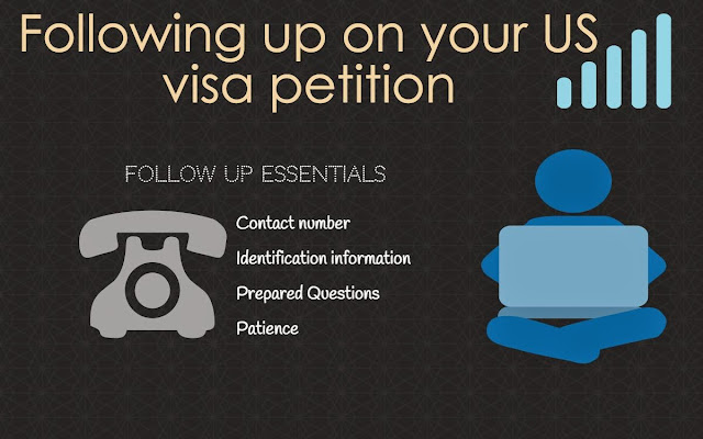 Following up on the immigration process  | Ways to stay on top of the visa application process
