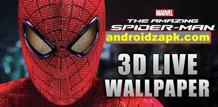 The Amazing Spider-Man 3D Live wallpaper (LWP) v1.18 apk